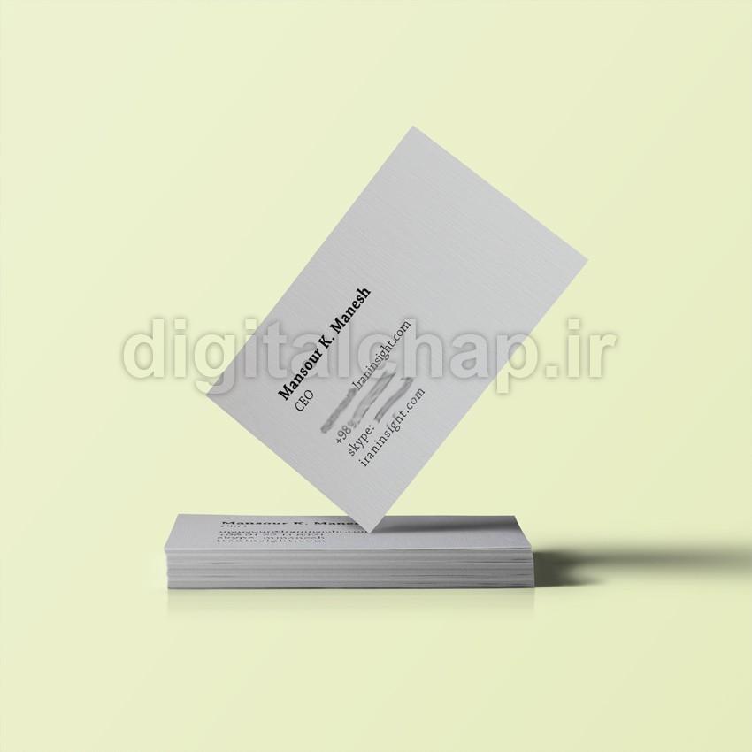 کارت ویزیت 600 گرم آلمانی